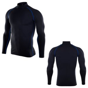 Clothing long sleeve arrival Quick Compression Shirt Long Sleeves Training tshirt Summer Fitness Clothing Solid Color Bodybuild Crossfit