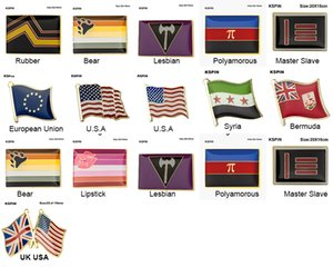 10 Ad Pride Badge Biseksüel Panseksüel Broş Lezbiyen Pride Pim Bayrağı LGBTQ Gay Bayrağı Yaka Pin