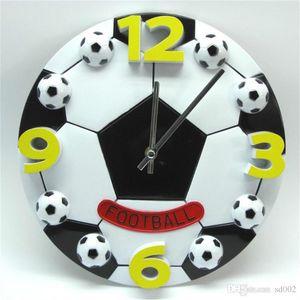 Basket-ball Horloge Murale Grand Football Décorer Horloges Salon Chambre Chambre Fournitures Pour La Maison Muet Batterie Creative Circulaire Ventes Chaudes 23xyC1