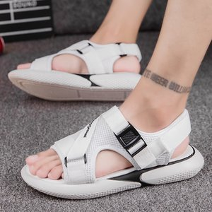 2019 Summer New MEN'S Sandals Anti-slip Korean-style Men Sports Casual Sandals Fashion INS Super-Men Sandals