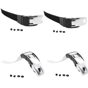 2 Pairs Replacement Inline Roller Skate Shoes Energy Straps with Screws