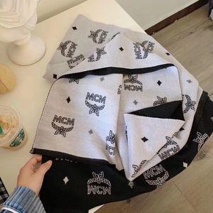 Marca Quente Homens de Inverno Lã Petit Damier lenço da forma Gentlemen Carta da manta Knit Texturas Xaile