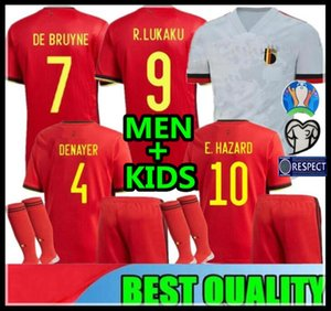 2019 2020 Бельгия Лукаку ОПАСНОСТИ Kompany DE Bruyne MERTENS футбол Джерси 2019 Кубок Европы спорт футбол рубашка MEN + KIDS