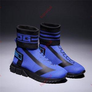 горячая 2020 hoccoal модный тренд мужские носки сапоги обувь мужская высокая-топ нескользящая летняя дышащая повседневная обувь толстые ботильоны g63082026