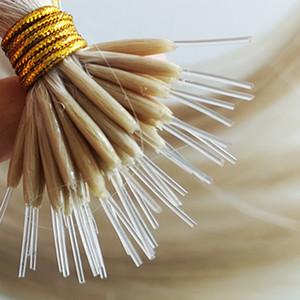 certificati CE all'ingrosso colori personalizzati plastica capovolgo le estensioni dei capelli cuticola prime allineato nano flex punta dei capelli