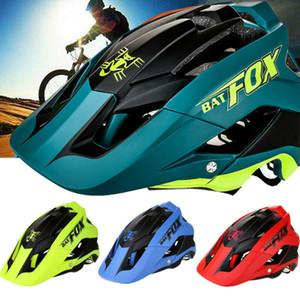6 cores de bicicleta Capacete Bike Cycling adultos ajustável capacete Unisex segurança com viseira