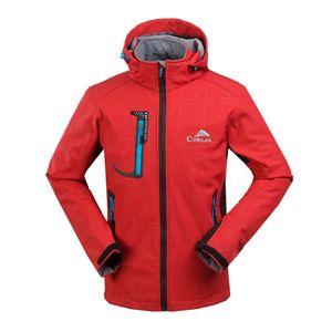 Гарантия оригинальной водонепроницаемой походной куртки для мужчин Soft Shell Альпинистская куртка Windstopper Softshell Camping Jackets