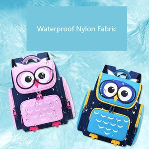OKKID children bags for girls cute waterproof animal schoolbag kids pink book bag elementary school backpack Y200328