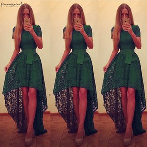 2020 Summer Fashion Hot Sales Women Ladys Sexy Elegant Formal Solid Long Wedding Party Ball Gown Dress Green Color