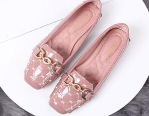 Livre enviar Hot 2018 novo estilo de fundo plano de sapatos coreano único quatro estações sapatos mulher @ 02