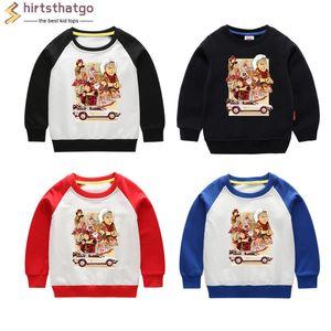 Boy Girl Ritorno al futuro DMC divertenti magliette felpate Kid autunno bambino abbigliamento invernale Kid Pullover Tops Venerdì nero regalo