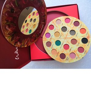 Maquillage makeup new color pizza 18 Color Eyeshadow sparkling matte 18 Color Eye Shadow Palette Eye Shadow.