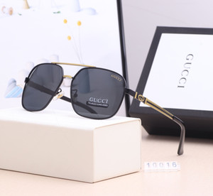 2019 neue heiße Marken-Sonnenbrille Weinlese-Pilot Wayfarer Sonnenbrillen UV400 der Frauen Männer Männer Frauen Ben Glass Bain Lenses