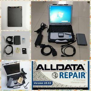 GTS TIS 3 OTC сканер Последние V13.00.022 Для T-oyota IT3 Сканер Auto Diagnostic Tools с CF-30 ноутбук и 1 Тб SSD