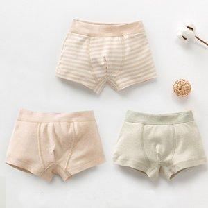 Nuovo organico cotone colorato Baby Underwear Bambini vita alta Slip bambino Panties per la ragazza Boy
