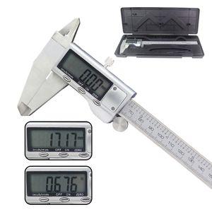 200mm LCD Display Electronic Digital Vernier Caliper 8 inch Stainless Steel Caliper Micrometer Ruller Meter Measuring Tool