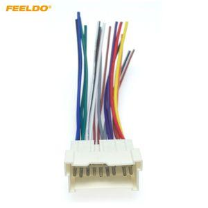 Feeldo Car OEM Audio Stereo Cablaggio adattatore per Hyundai / KIA (01 ~ 05) Installare Aftermarket CD / DVD stereo # 2053