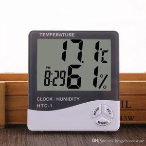Цифровой ЖК-термометр температуры гигрометр бытовой прецизионный термометр с часами измеритель влажности термометр с календарным сигналом тревоги BC DH1373