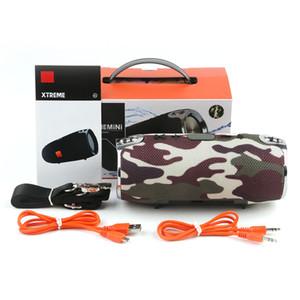 kayışları MP3 çalar ile 2019 bluetooth hoparlör su geçirmez Mini Xtreme açık taşınabilir subwoofer kablosuz stereo hoparlörler