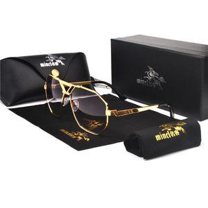 Übergroße quadratisch Sonnenbrille Frauen Männer Weinlese-Quadrat Hip Hop Punk Sun-Glas-Metall-Marken-Designer-Damenmode Brille FML