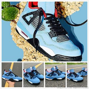 4s Ts Sp Cactus Jack Jumpman Iv Basketball Shoes Mens Travis Designer Sneakers Casual Trainers Trending Sport Shoes Size 40-45