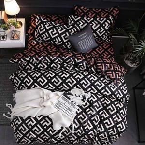2019 новый роскошный Beding пододеяльник простыня наволочка постельное белье комплект постельных принадлежностей постельное белье домашний текстиль 3шт