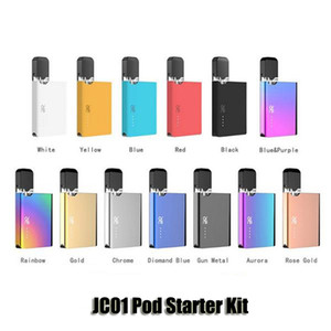 Authentic OVNS JC01 Pod Starter Kit 400mAh Battery 0.7ml Ceramic Coil Thick Oil Cartridge Tank JC01 Vape Empty Vaporizer Genuine