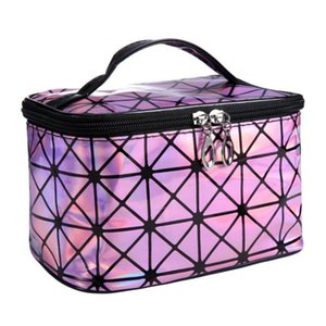 Designer Beautician Necessaire Large Cosmetic Bag Cases In Stock Beauty Vanity Makeup Box Bag Travel Toiletry Wash Pouch for Women