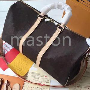 2020 Keepall Luis Vit bolso de lujo del diseñador del monedero de cuero del equipaje del viaje patrón de alta calidad L flor de lona bolsas de asas newff55 #