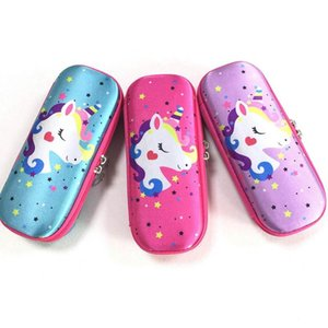 Creative Cute Cartoon Animal Unicorn Pencil Cases Stationery Pencil Case Box For Kids Gift Office School Supplies