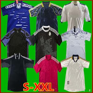 Rétro classique du Real soccer ZIDANE 1997 1998 1999 2000 2002 2003 2004 2005 2010 2011 2012 2014 2015 16 17 Retro chemise de football Madrid