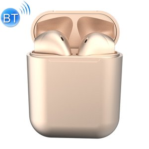 InPods12 TWS Bluetooth 5.0 Metallic Matte Plating Bluetooth Earphone with Charging Case, Supports Call & Touch