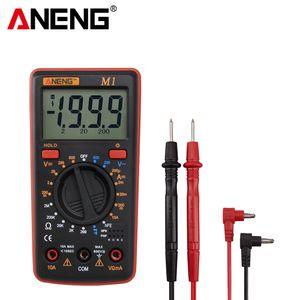 ANENG M1 цифровой мультиметр esr метр мультиметр тестер true rms цифровой мультиметр тестеры мультиметр richmeters dmm 400a