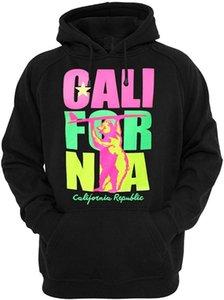 Los productos de la alameda de California Surf oso unisex con capucha de la capa hoodies streetwear gimnasio basculador del verano del invierno Sudaderas