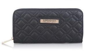 Hot Selling Kk Wallet Long Design Women Wallets PU Leather Kardashian KollectionGrade Clutch Bag Purse Handbag