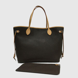Bolsa de hombro Totes Bolsos bolso de las mujeres del morral del bolso de las mujeres bolsas de mano monederos Brown bolsas de cuero embrague billetera moda Bolsas 36-49