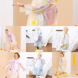 Girls' cappotto vestito dei bambini all'asilo poncho bambino cartella pupille stivali da pioggia Schoolbag mantello stivali da pioggia ragazzi