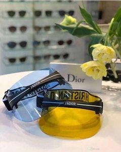 2019 Visier Top-Qualität Luxus Visier Mütze Sonnenbrille Damen Herren Hut für Unisex Bunte Cap Außen UV-Schutz-Objektiv-Carbon-Faser Beine