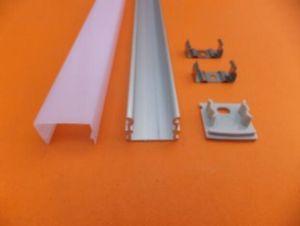 Calidad aluminio llevó perfil Alu Led Perfil, Perfil cuadrado de aluminio llevó la tira con la mejor calidad