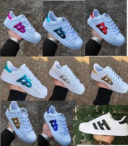 Taille 36-46 hommes Vente chaude mode Casual Shoes Superstar Femme Sneakers Femmes Zapatillas Deportivas Mujer Lovers Chaussures Sapatos Femininos