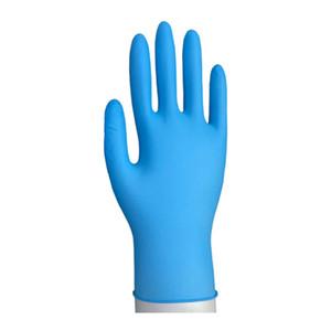 Горячая продажа Одноразовые нитриловые перчатки из латекса 3 видов спецификаций опционально без порошка резины противоскольжения анти-кислотные перчатки Y2I10012