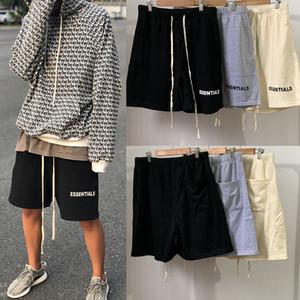 2020 Mens miedo de pantalones cortos para hombre de Dios Moda pantalones casuales pantalones cortos de verano Fundamentos de alta calidad pantalones cortos casuales