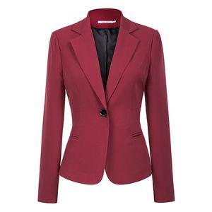 U-SWEAR 2019 Frauen Blazer Slim Fit Jacken Outwear Büroarbeit Vintage Blazer Outfits Mäntel Feminino
