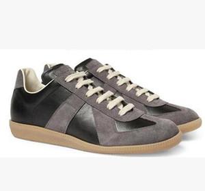 Chaud!! marque chaussures MMM femmes et les hommes chaussures de sport nouvelle chaussure hommes de couture en cuir 36-46 Livraison gratuite