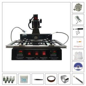 LY M770 Infrared BGA estação 220V 2 zonas com BGA Reballing ferramenta Kit solda bola 810pcs Stencils calor direto