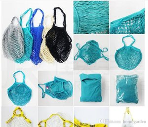 Hand-held convenient cotton net bag supermarket shopping vegetables and fruits net pocket hollow woven cotton thread net bag