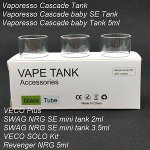 30 adet Orijinal Yedek Pyrex Cam Tüp NRG-S VECO Artı / Revenger NRG 5 ml / Cascade Bebek SE Tankı / VECO Solo Kit Tankı