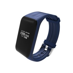 سبورت سوار ذكي سوار سباحة K1 مقياس دقات القلب مراقبة الشريط الذكي IP67 متتبع نشاط