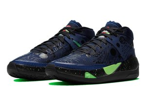 KD 13 Planet of Hoops for sale With Box 2020 hot Kevin Durant 13 Outer Space Basketball shoe store US7-US12