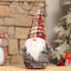 Handgemachte Weihnachts Figurine Ornament Ferien Gnome Weihnachts Plüsch Dekoration Festliche Geschenke Puppe Tabletop